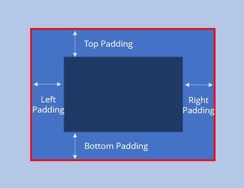 Landing Page Abstand innerhalb der Ränder