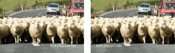 Komprimiertes Bild-Jpg. Datei