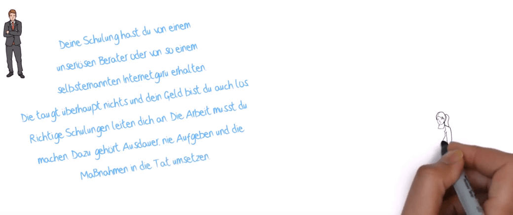 Scribble-Videobild
