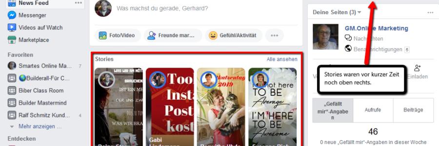 Facebookstorie
