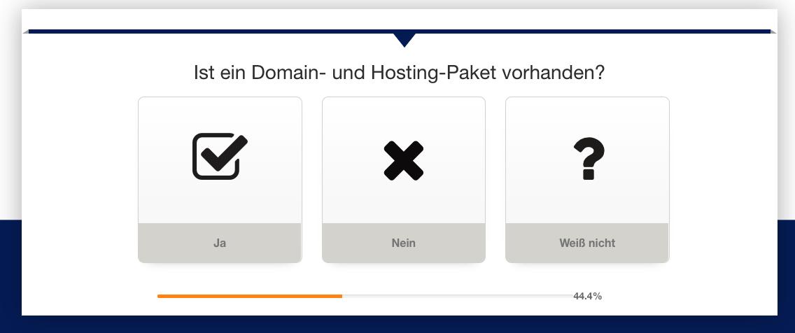 QOON® Leadgenerator - Gibt es schon Domain und Hosting?
